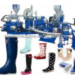 building up boot machine PVC building up rain boot machine-