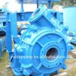 centrifugal slurry pump with rubber liner-