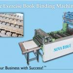 Automatic Exercise Book Binding Machine-