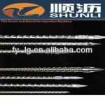 Stainless steel screw and barrel for Injection molding machine/extruder single screw and cylinder-