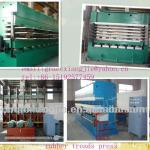 tire/tyre retreading machine/ precured rubber tread press/five layers 1100tons hydraulic press-