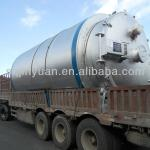 waste tire pyrolysis plant-
