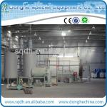 Continuous waste rubber pyrolysis device with 15-20t/d capacity-