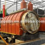 waste tyre pyrolysis plant for 6 tons-