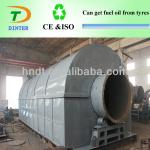 2013 best selling tire to oil pyrolysis recycling plant-