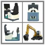 2013 Excavator learning equipment-