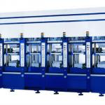 Eva two color/duo-density injection molding machine-