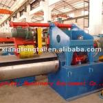Waste materials winding machine-